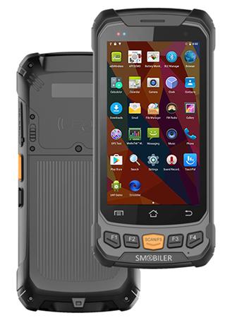 图片 SMOBILER 工业级安卓手持终端 R100 可选配1D/2D条码